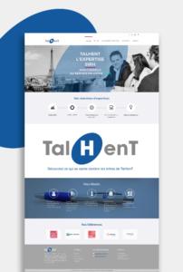 Talhent - web 2 - réalisations - tao sense - 2018