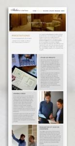 Atelier de la foret divonne - web - réalisations - tao sense - 2018