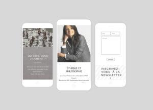 Marion LFD - smartphones - réalisations - tao sense - 2018
