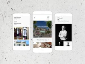 Global Architecture - smartphone - réalisations - tao sense - 2018