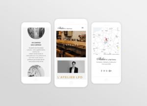Atelier de la foret divonne - smartphone - réalisations - tao sense - 2018