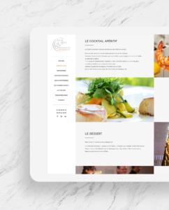 Entre mets & fragrances - tablette 2 - réalisations - tao sense - 2018
