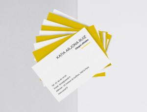 Socaf - cartes de visite 2 - réalisations - tao sense - 2018