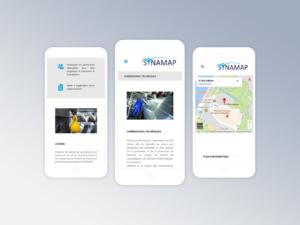 Snynamap smartphone - in situ - réalisations - tao sense - 2018