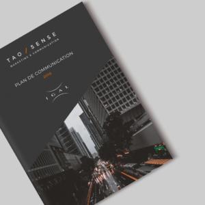 Plan de communication audit et stratégie - Tao Sense - 2018
